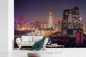 Fotobehang vinyl - Kleurrijke lucht boven Beijing breedte 540 cm x hoogte 360 cm - Foto print op behang (in 7 formaten beschikbaar)