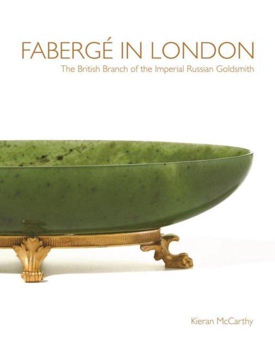 Boek cover Faberge in London van Kieran Mccarthy (Hardcover)
