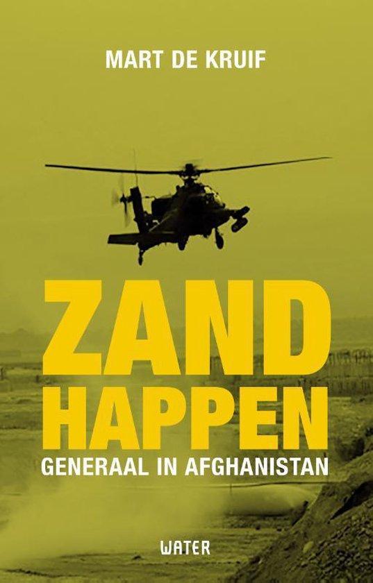 Boek cover Zandhappen van Mart de Kruif