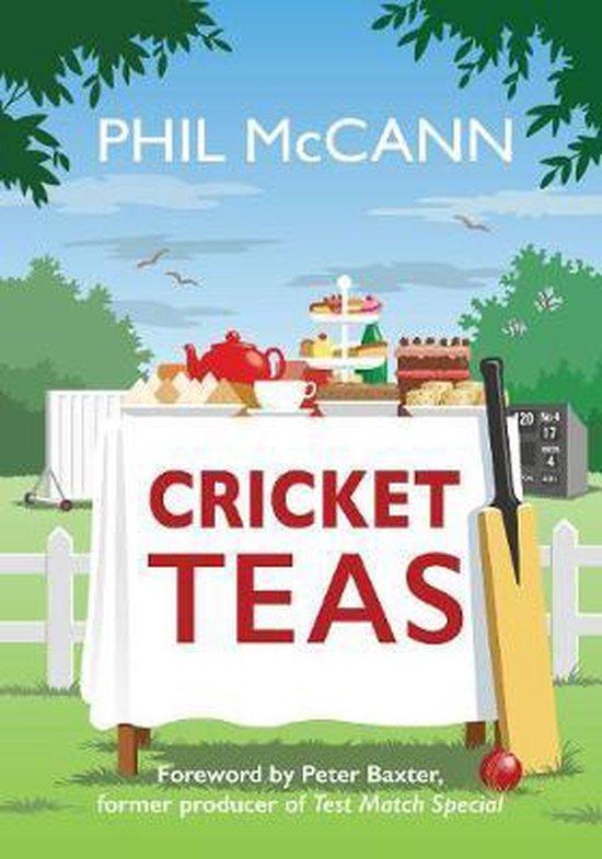 Boek cover Cricket Teas van Phil Mccann (Paperback)