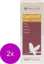 Versele-Laga Oropharma Canto-Vit Liquid Zang&Vitamine E - Vogelsupplement - 2 x 30 ml