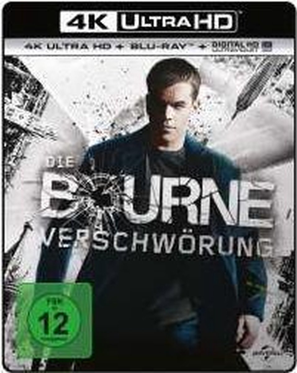 The Bourne Supremacy (2004) (Ultra HD Blu-ray & Blu-ray)-