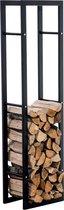 Clp Keri V3 - Brandhoutrek - Mat Zwart - 25 x 40 x 150 cm