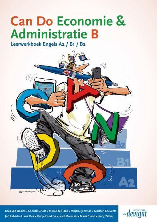 Can Do Economie & administratie B Leerwerkboek Engels A2 B1 B2 - Kees Daalen | Fthsonline.com