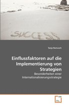 Einflussfaktoren auf die Implementierung von Strategien