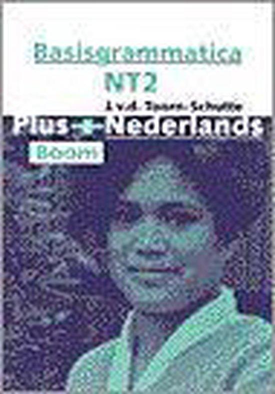 Boek cover Plus+ Nederlands - Basisgrammatika NT2 van Jenny van der Toorn-Schutte (Paperback)