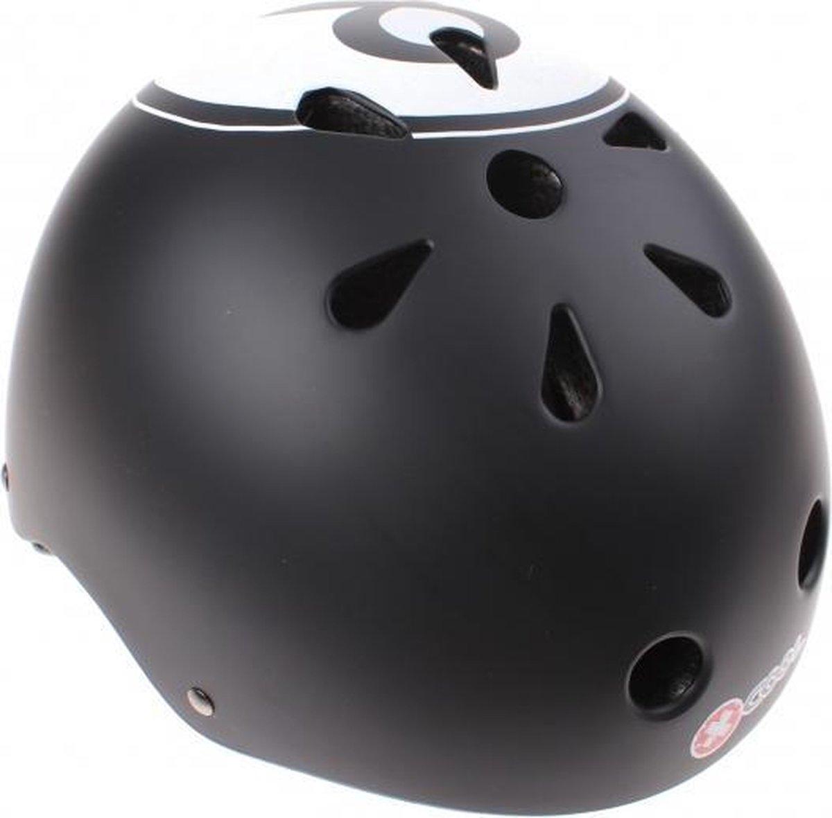 Cycle Tech fietshelm XCool 8-ball zwart maat 54/58 cm