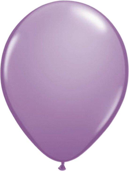 Lavendel Paarse Ballonnen - 100 stuks