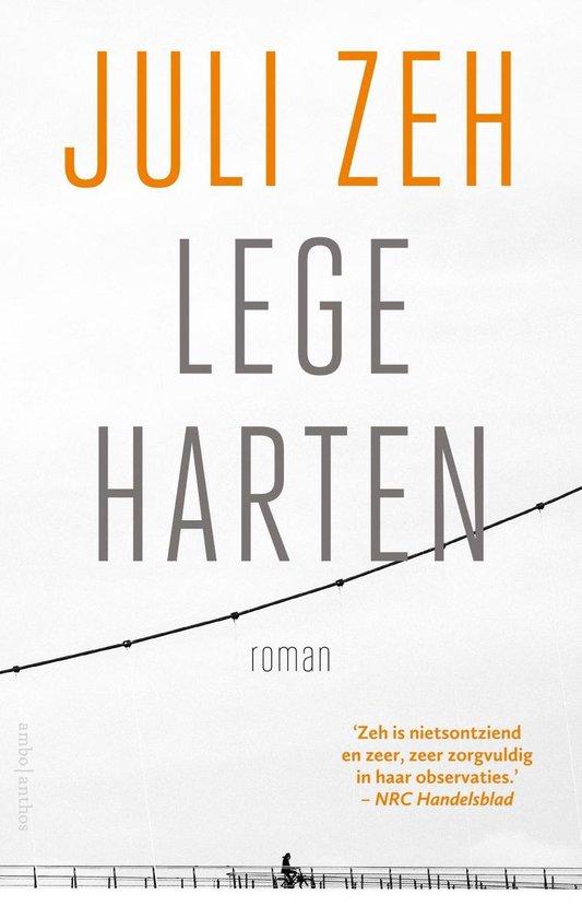 Boek cover Lege harten van Juli Zeh (Onbekend)