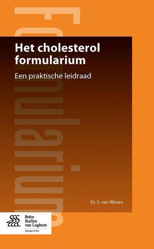 Het cholesterol formularium - S. van Wissen   Fthsonline.com
