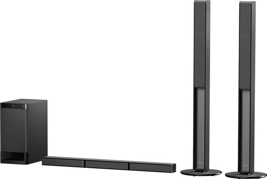 Sony HT-RT4 - 5.1 soundbar met draadloze subwoofer - Zwart