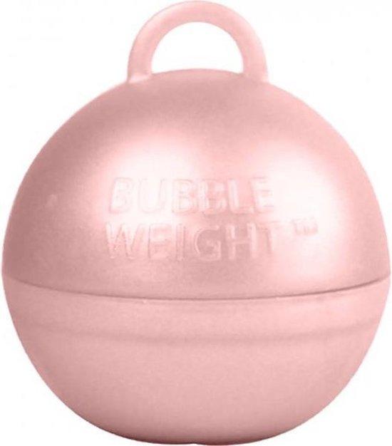 Ballon gewicht rosé goud 35 gram (25 stuks)