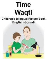 English-Somali Time/Waqti Children's Bilingual Picture Book