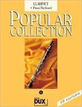 Popular Collection 5. Clarinet + Piano / Keyboard