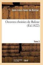 Oeuvres Choisies de Balzac T01