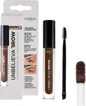 L'Oréal Paris Unbelieva Brow Wenkbrauwgel - 108 Dark Brunette - Bruin