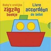 Baby's vrolijke zigzag boekje; Livre accordéon de bébé