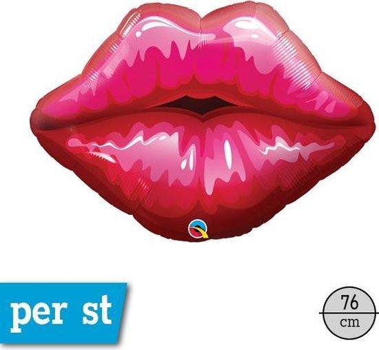 Kissing Lips Folieballon