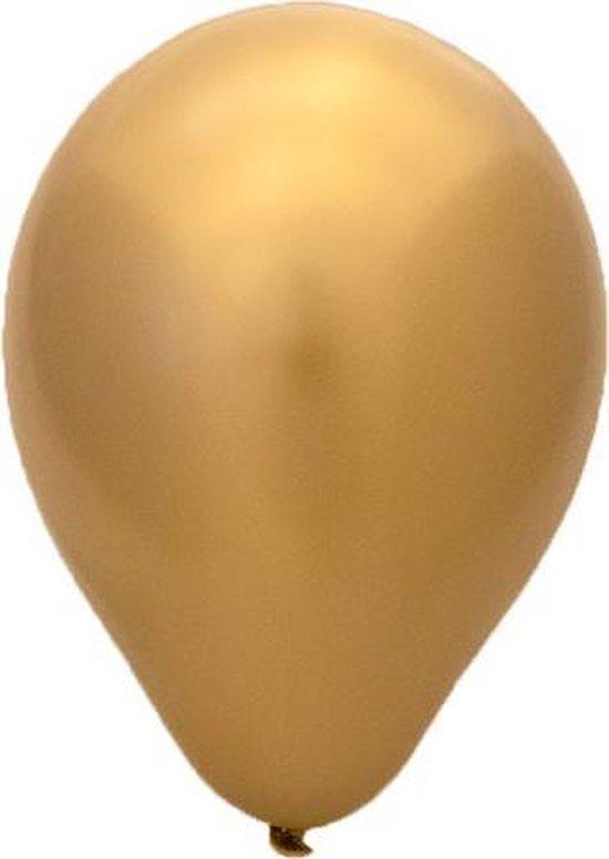 50 stuks goud metallic latex ballonnen 30 cm