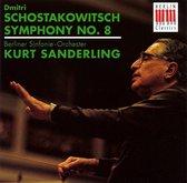Shostakovich: Symphony no 8 / Sanderling, Berlin Symphony