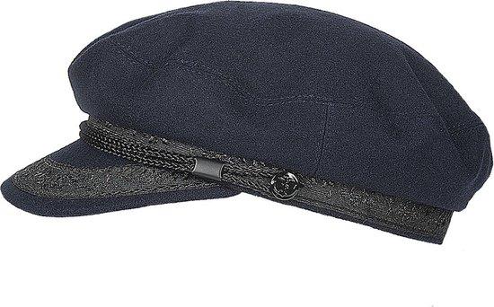 Hatland Marin Imper Blue/Black Peaky Blinders Pet 02010A02-56  (Maat: S/M)