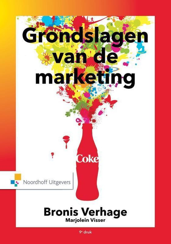 Boek cover Grondslagen van de marketing van Bronis Verhage (Hardcover)