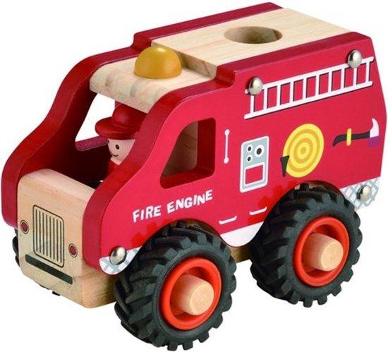 Simply for Kids Houten Brandweerauto
