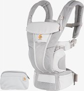 Ergobaby Omni Breeze Baby draagzak Pearl Grey - ergonomische draagzak vanaf geboorte