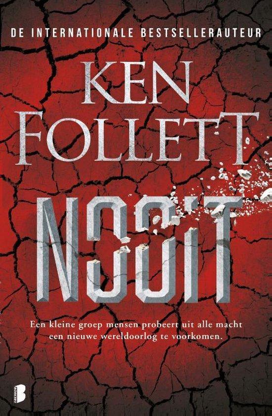 Boek cover Nooit van Ken Follett (Hardcover)