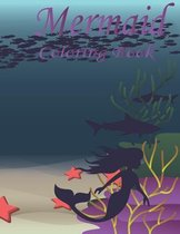 Mermaid Coloring Book