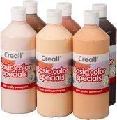 Creall Schoolverfset Kleuren van de Wereld, 6x500ml