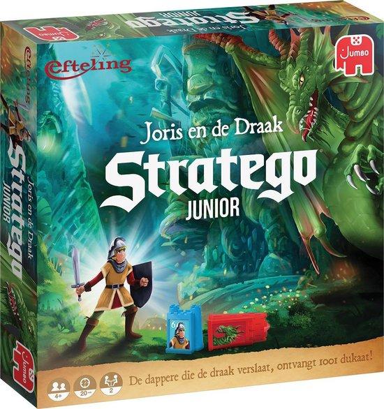 Thumbnail van een extra afbeelding van het spel Stratego Junior Efteling Joris en de Draak - Bordspel