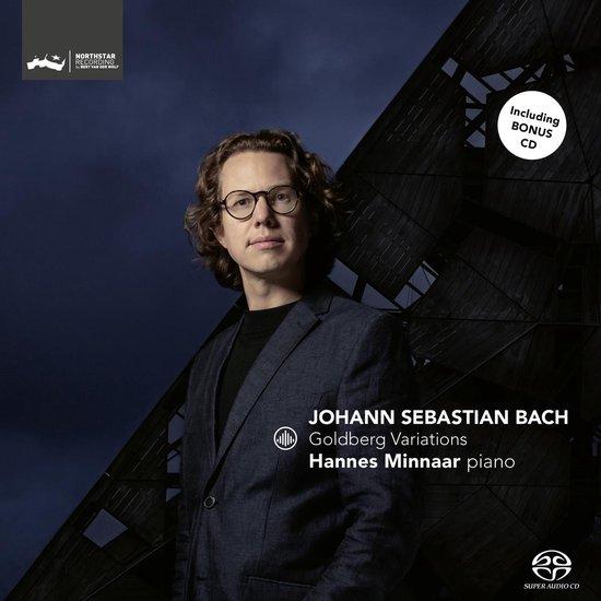 CD cover van Johann Sebastian Bach: Goldberg Variations van Hannes Minnaar