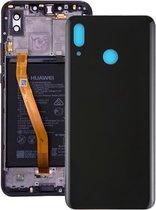 Let op type!! Back Cover for Huawei Nova 3(Black)
