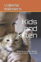 Kids and Kitten