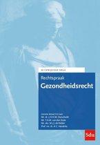 Boek cover Rechtspraakreeks  -   Rechtspraak Gezondheidsrecht van  (Paperback)