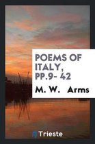 Poems of Italy, Pp.9- 42
