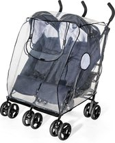 Reer Regenhoes Voor Dubbele Buggy's en Kinderwagens