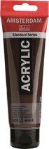 Amsterdam Standard acrylverf tube 120ml - Omber gebrand - halftransparant