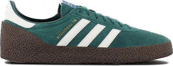 adidas Originals Montreal 76 B41480 Heren Sneaker Sportschoenen Schoenen  Groen - Maat EU 40 2/3 UK 7