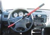 Zeer sterk auto stuurslot rood- voorkomt inbraak