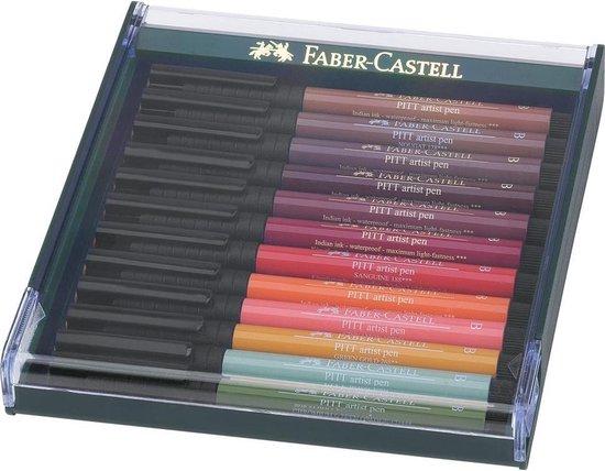 Faber-Castell - Pitt Artist Pen - Earth (267422) - Faber-Castell