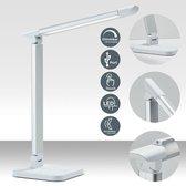 B.K.Licht LED Tafellamp - Dimbaar - Wit