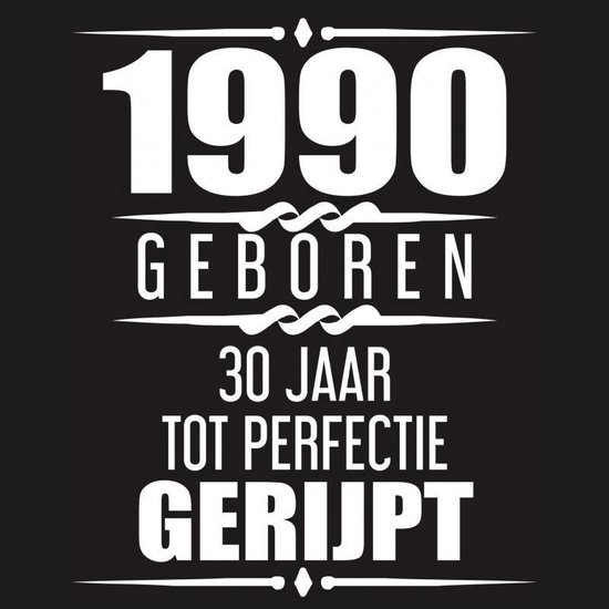 1990 Geboren 30 Jaar Tot Perfectie Gerijpt - Albaspirit Gastenboeken | Readingchampions.org.uk