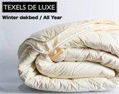 Texels de Luxe Winter dekbed 100% Scheerwol - 240x220cm