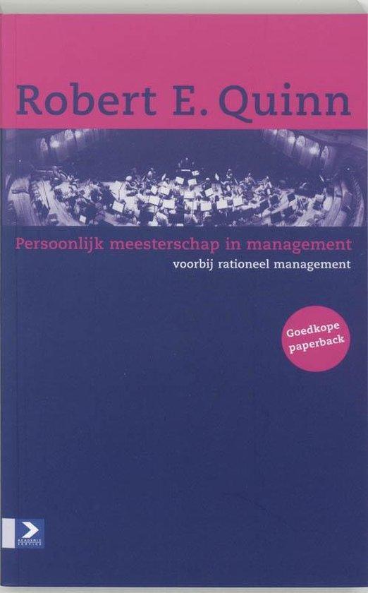 Persoonlijk meesterschap in management - R.E. Quinn pdf epub