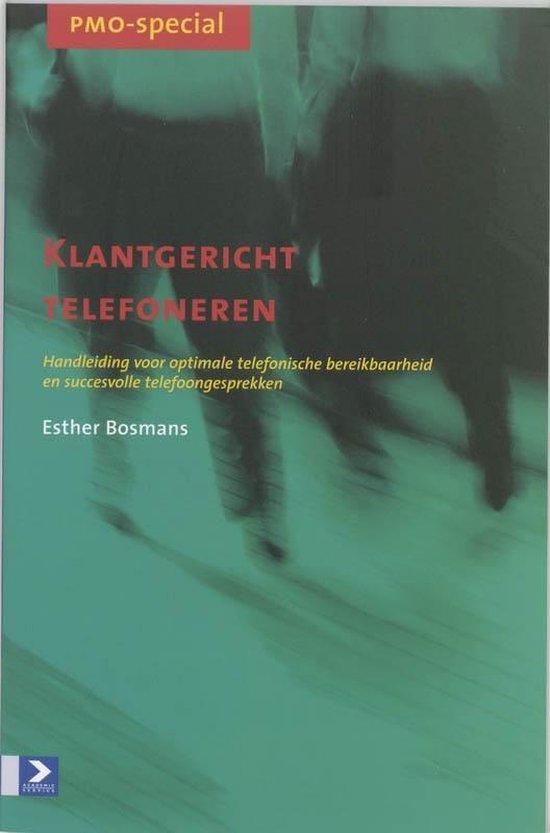Cover van het boek 'Klantgericht telefoneren'