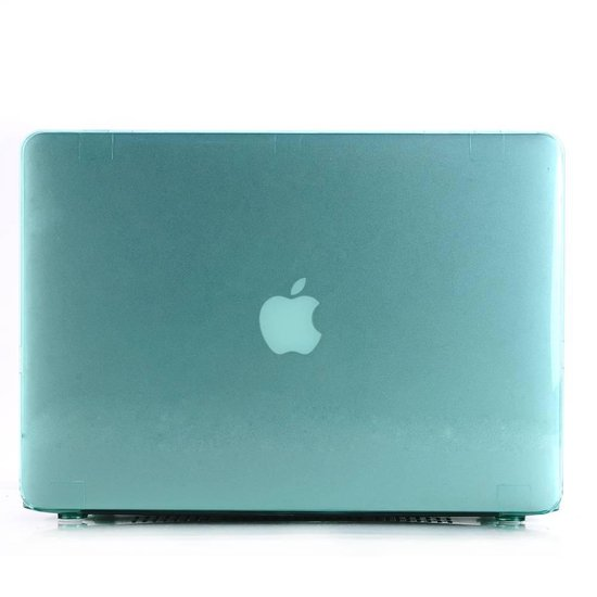 Lunso - hardcase hoes - MacBook Air 13 inch (2010-2017) - glanzend groen