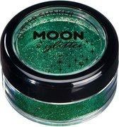Moon Creations Glitter Fijn Glitterpoeder 5 Gr Groen