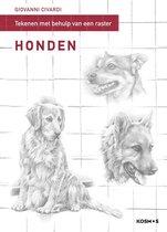 Tekenen met behulp van een raster - Honden